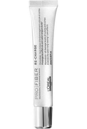 L'Oréal Professionnel Pro Fiber Re-Charge Yıpranmış Saçlar İçin Uzun Süre Etkili Onarıcı Konsantre Kür 20Ml