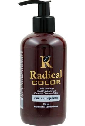 Radical Color Su Bazlı Saç Boyası Vişne Kızılı 250 Ml