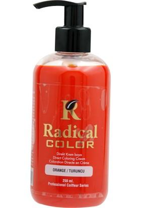 Radical Color Su Bazlı Saç Boyası Turuncu 250 Ml