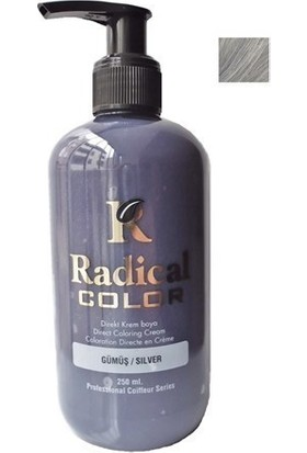 Radical Color Su Bazlı Saç Boyası Gümüş Silver 250 Ml