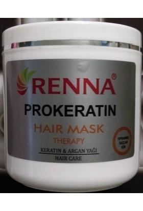Renna Prokeratın Haır Maske 500 Ml Yıpranmış Saçlar İçin