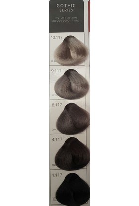 İnfiniti Gothıc Saç Boyası 100 Ml 1.117 Gothıc Black Siyah