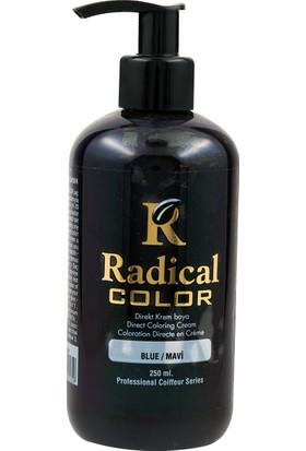 Radical Color Su Bazlı Saç Boyası Mavi 250 Ml