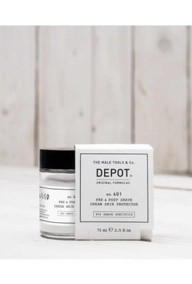 Depot No 401 Pre&Post Shave Cream Tıraş Öncesi Ve Sonrası Koruyucu Krem 75Ml