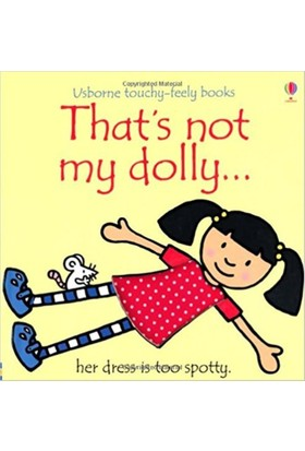 That'S Not My Dolly (Usborne Touchy-Feely Books)