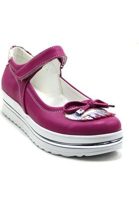 Ayakdaş 125 Çocuk Fiyonklu Kız Ayakkabı