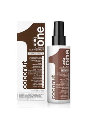 Uniq One All In One Coconut Haır Treatment 1'Den Oluşan Sihir.150 Ml