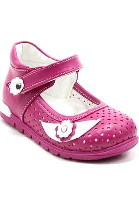 Ayakdaş Çocuk Tek Bant Delikli Kız Ayakkabı