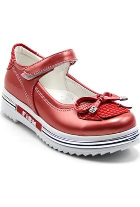 Ayakdaş 25 Çocuk Fiyonklu Kız Ayakkabı
