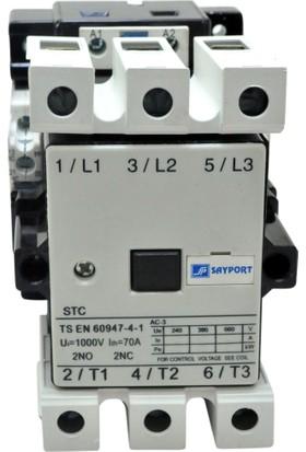 Sayport 37Kw (75A) Ac Kontaktör 2N0 2Nc