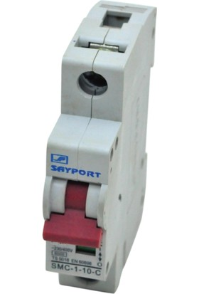 Sayport 10A (1X10A) C/3Ka Tekli W Otomat