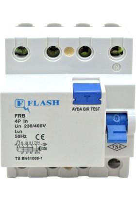 Flash 4X32A/300Ma Kaçak Akım Koruma Rölesi