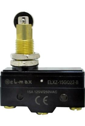 El-Max Xz-15Gq22-B Yatay Metal Makara Pim 1No+1Nc Mikro Swıtch