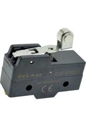 El-Max Xz-15Gw22-B Kısa Palet Metal Makaralı 1No+1Nc Mikro Swıtch