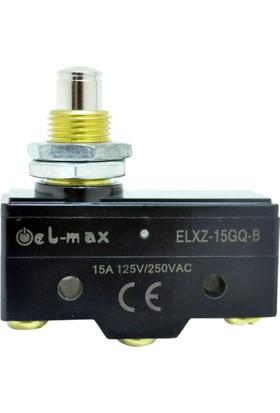 El-Max Xz-15Gq-B Kalın Uzun Pimli 1No+1Nc Mikro Swıtch