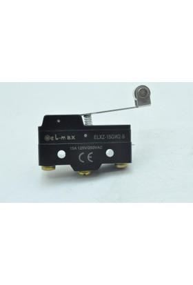 El-Max Xz-15Gw2-B Uzun Palet Metal Makaralı 1No+1Nc Mikro Swıtch
