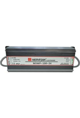 Mervesan 4,2A Led Trafosu (100W) 24V Ip67