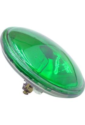 Osaka Lıght 30W Par36 Halojen Ampul 12V (Yeşil Işık)
