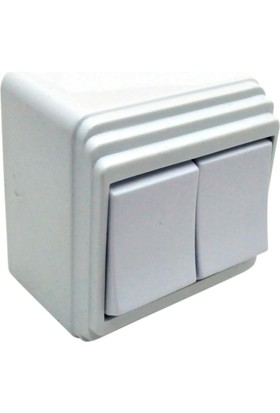 Supermax Sıva Üstü Komitatör (Çiftli Anahtar)
