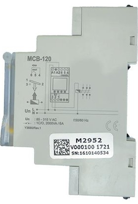 Entes Mcb-120 Dijital Zaman Rölesi