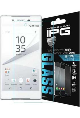 IPG Sony Xperia Z5 Temperli Cam Görünmez Ekran Koruyucu