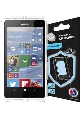 IPG Microsoft Lumia 950 XL Görünmez Yan Koruyucu
