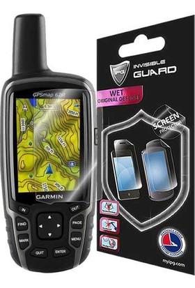 IPG Garmin GPSMAP 62 Görünmez Ekran Koruyucu (2 adet)