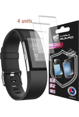 IPG Fitbit Charge 2 Ekran Koruyucu (4 Adet)