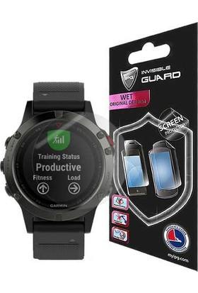 IPG Garmin Fenix 5 47mm Watch Ekran Koruyucu (2 Adet)