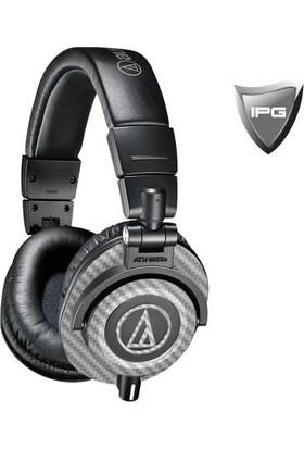 IPG Audio Technica ATH M50 & M50x Gümüş - Karbon Fiber Koruyucu
