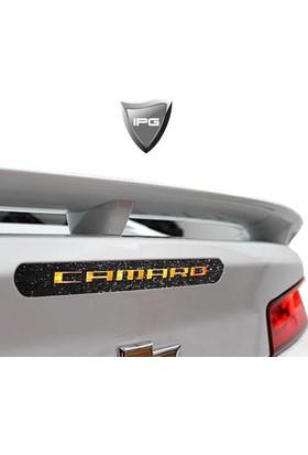 IPG Chevrolet Camaro Arka Fren Stop Lambası Yıldız Tozu Siyah Koruyucu