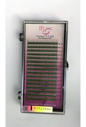 Ib İpek Kirpik C 0.15-11Mm Premium Mink Eyelash