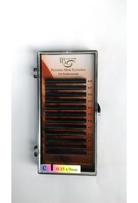 Ib İpek Kirpik C 0.15-9Mm Premium Mink Eyelash