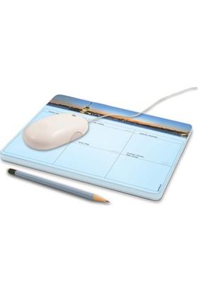 DirektAlKağıt Mouse Pad-Haftalık Planner (Sümen) İstanbul