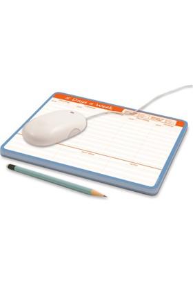 DirektAlKağıt Mouse Pad-Haftalık Planner (Sümen) Gün&Hafta