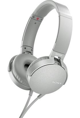 Sony MDRXB550APW.CE7 Kulaküstü Kulaklık Beyaz