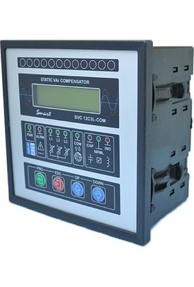 Grup Arge Svc Reaktif Güç Kontrol Rölesi (Ga111 Smart Svc 12C3L/Com)
