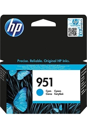 Hp 951 Cn050A Mavi Kartuş - Pro 8600