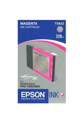 Epson T5633 Kırmızı Kartuş - Stylus Pro 7800 / Pro 9800