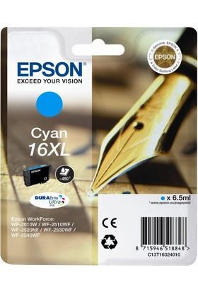 Epson 16Xl T16324020 Mavi Kartuş Wf-2010/Wf-2510/Wf-2540