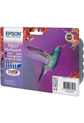 Epson T0807 6Lı Set Hikartuş T0801-T0802-T0803-T0804-T0805-T0806