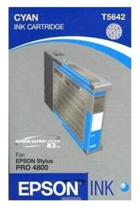 Epson T5642 C13T564200 Mavi Kartuş - Stylus Pro 4800