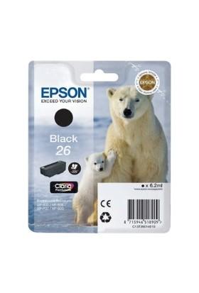 Epson 26 T260140 Siyah Kartuş Xp-600 / Xp-700 / Xp-800