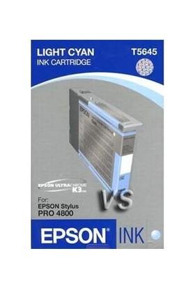 Epson T5645 C13T564500 Açık Mavi Kartuş - Stylus Pro 4800