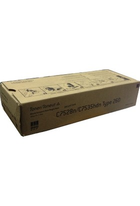 Ricoh Nrg 888458 Siyah Toner-Type 260 C7528N/C7535Hdn