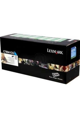 Lexmark C780A1Cg Mavi Toner - C780/C782