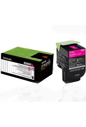 Lexmark 80C8Xm0 (808Xm) Kırmızı Toner - Cx510 Toner