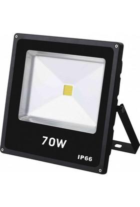 Global 70 W 6500K Beyaz Işık Cob Led Projektör