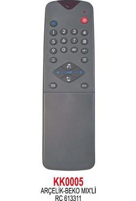 Rc-613311 Mıx Arçelik Beko Selli Tv Kumandası
