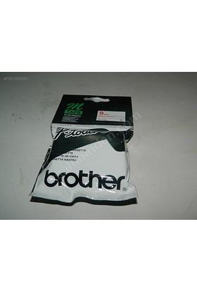Brother M-K233 Beyaz Üzerine Mavi P-Touch Etiket 12Mm Pt-55 / Pt-60 / Pt-80